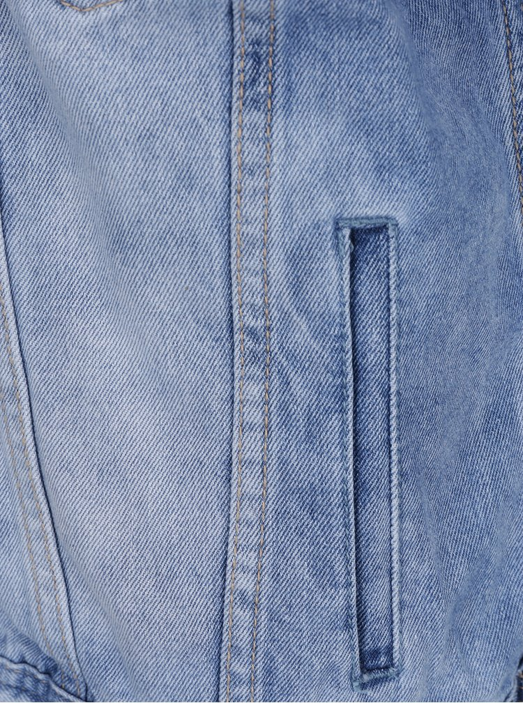 Jacheta albastru deschis Haily's Find din denim