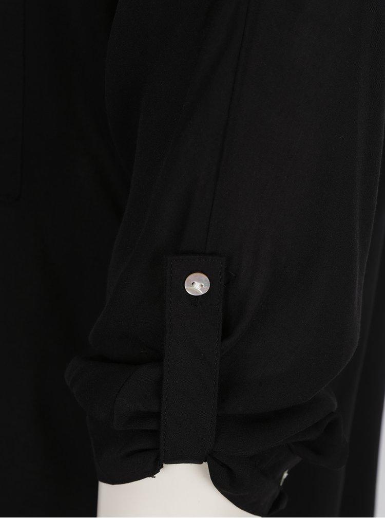 Černá halenka s dlouhým rukávem Haily's Florie
