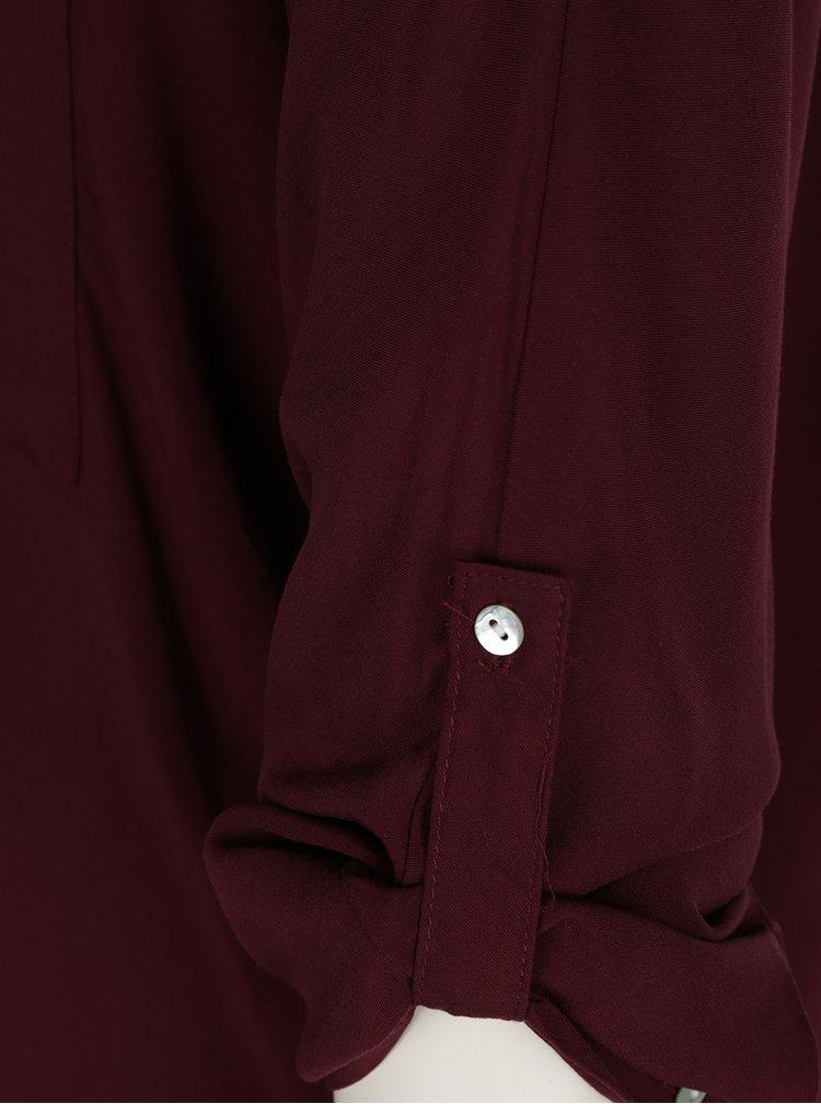 Bluza visinie Haily's Florie cu maneca lunga