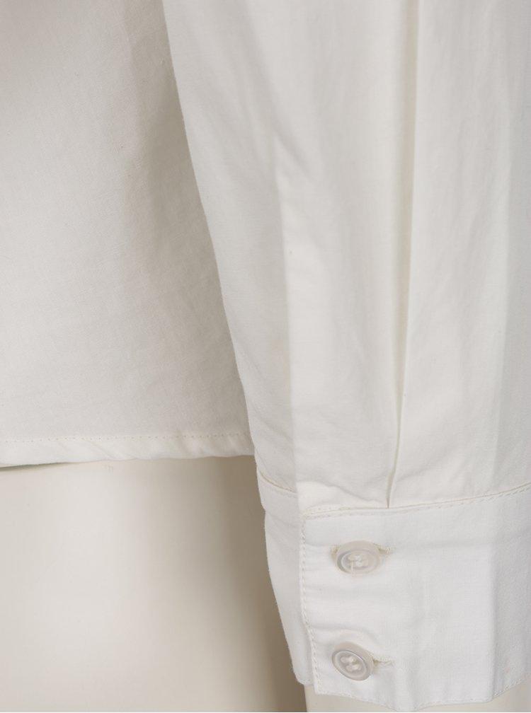 Krémová halenka s odhalenými zády VILA Reset
