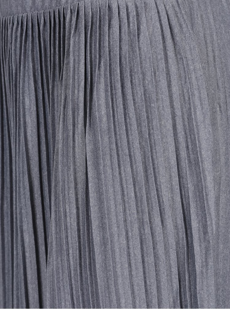 Fusta plisata gri Jacqueline de Yong Dice