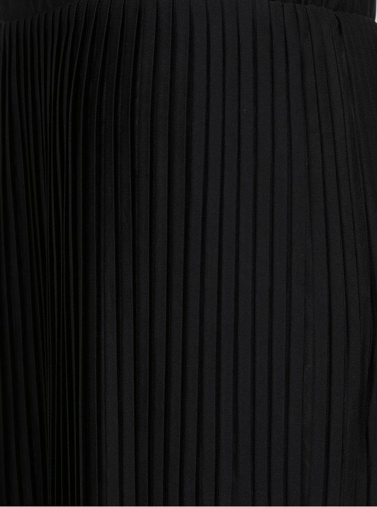 Fustă neagră plisată Jacqueline de Yong Dice