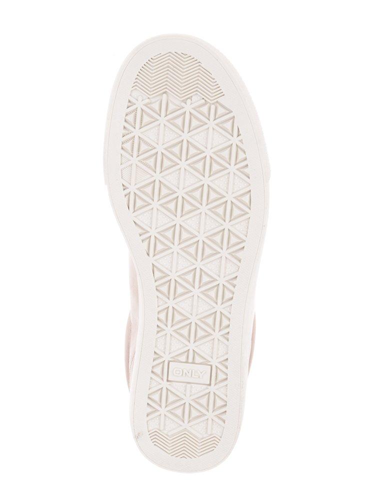Pantofi sport roz cu detalii argintii ONLY Sira