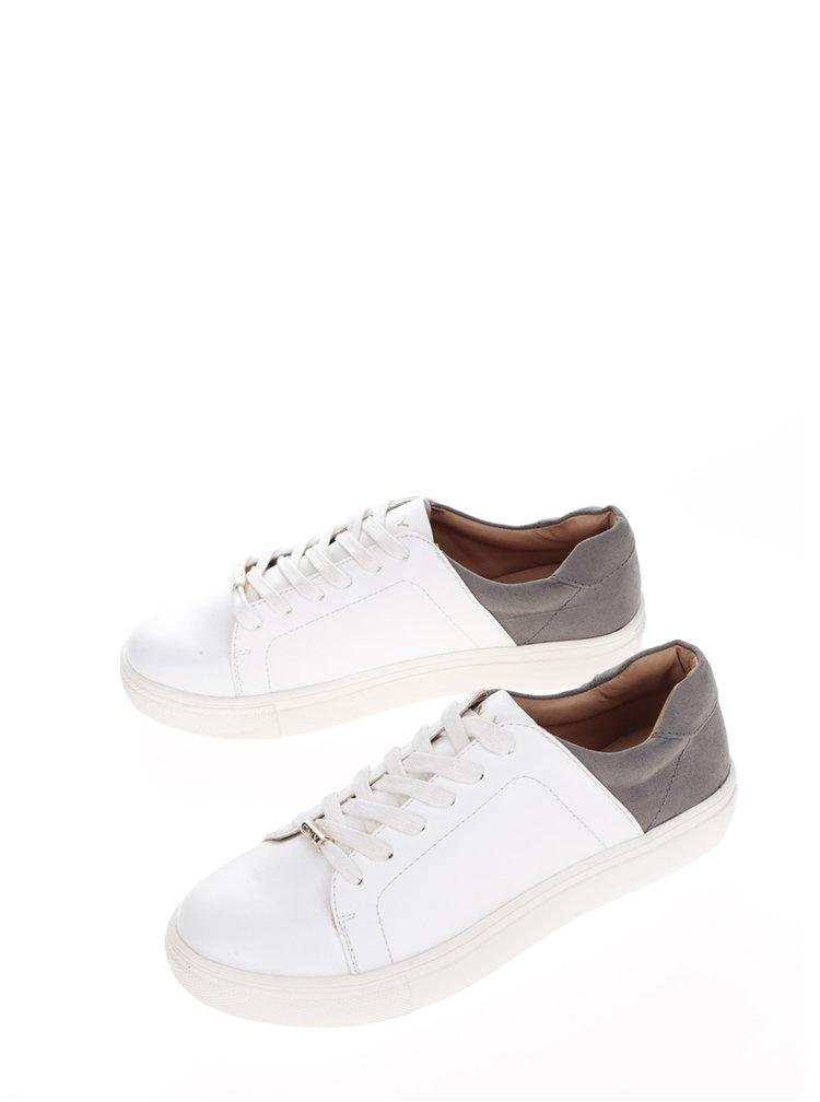 Bílé tenisky s šedivou patou ONLY Sage