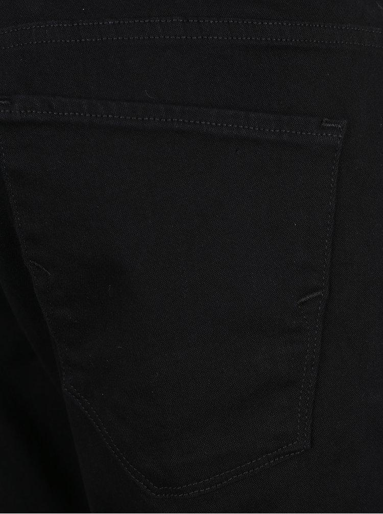 Černé straight fit džíny Selected Homme Scott
