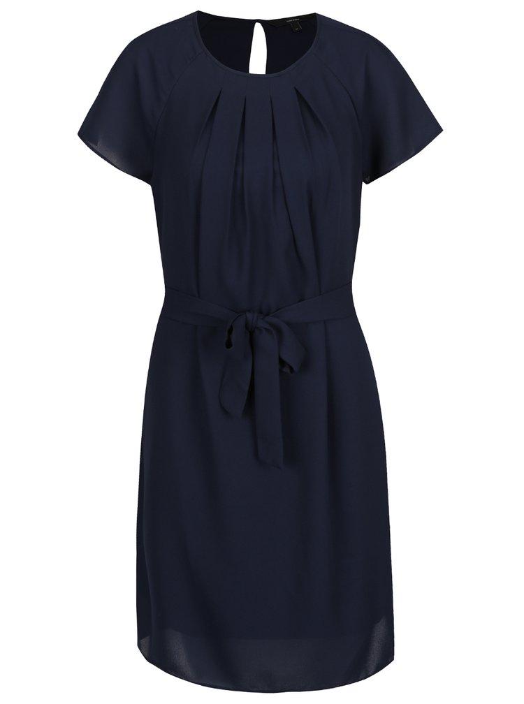 Tmavě modré šaty Vero Moda Nelli