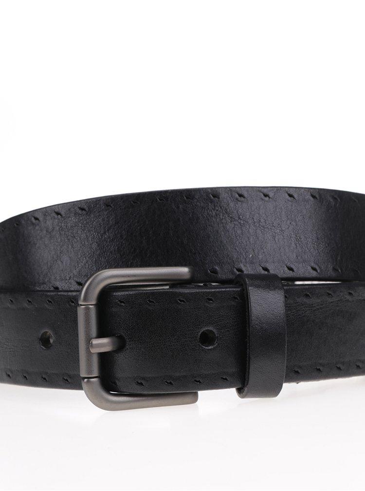 Curea neagra din piele Selected Homme Belt
