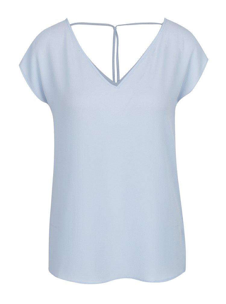 Tricou bleu cu bretele decorative ONLY Myrina