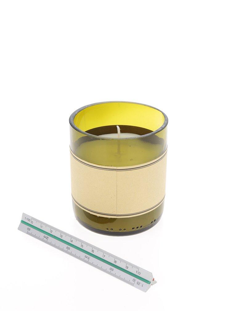 Vonná svíčka ve tvaru dna lahve CGB Champagne
