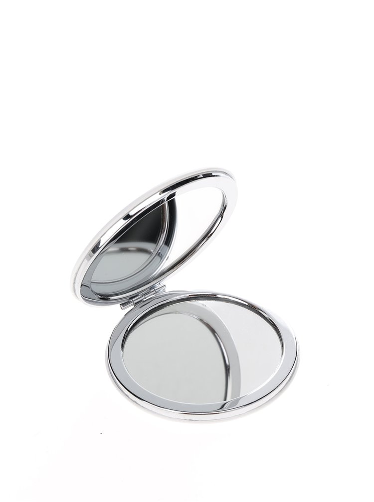 Krémové puntíkované kompaktní zrcátko CGB Sparkle