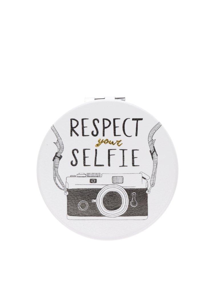 Krémové kompaktní zrcátko s potiskem foťáku CGB Respect