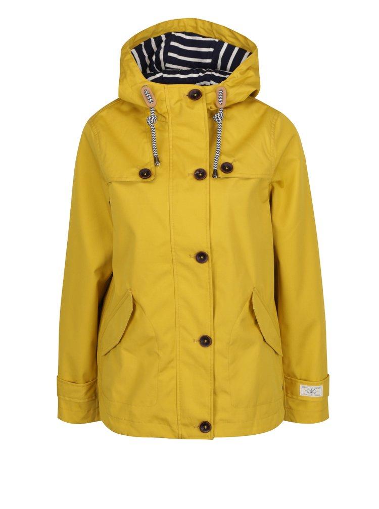 Žlutá dámská nepromokavá bunda Tom Joule