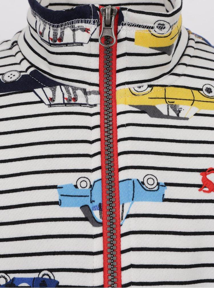 Bluza cu dungi si print multicolor Tom Joule pentru baieti