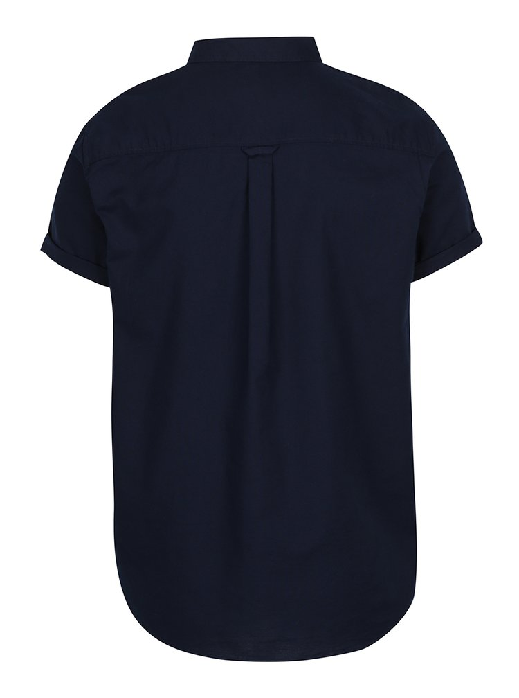 Cămașă bleumarinj Burton Menswear London din bumbac