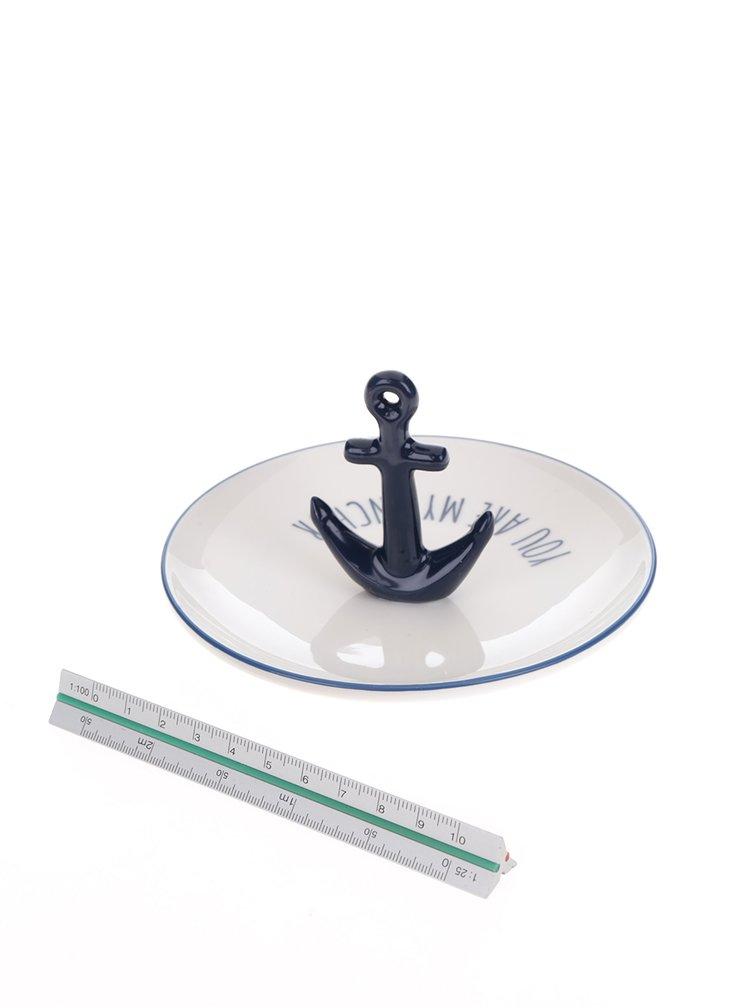 Suport pentru bijuterii Sass & Belle în formă de ancora