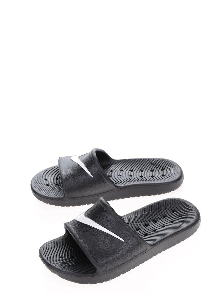 Șlapi negri Nike Kawa Shower pentru femei