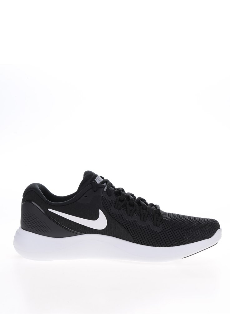 Pantofi sport alb&negru Nike Lunar Apparent pentru barbati