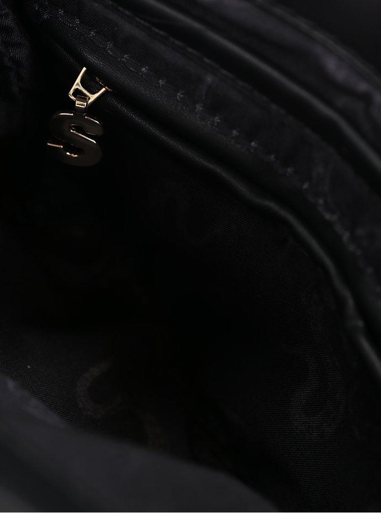 Černo-krémová kabelka Desigual Atenas Ava