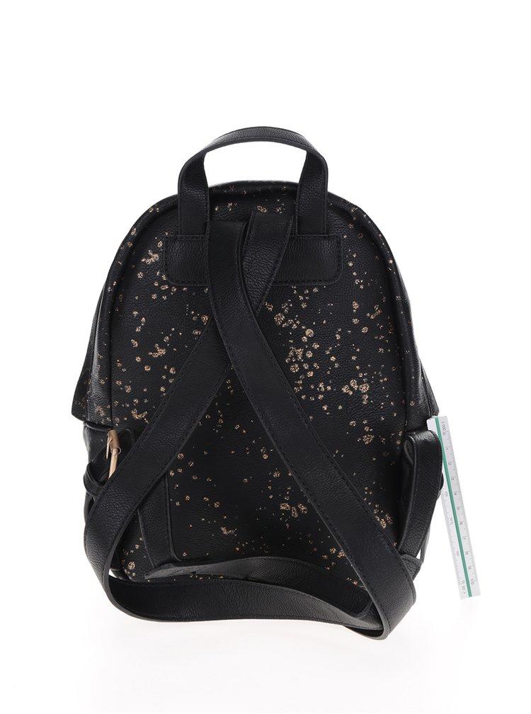 Černý batoh Desigual Perú Metal Splatter