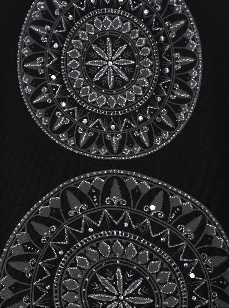 Bluza neagra cu croiala clos Desigual Neusifu
