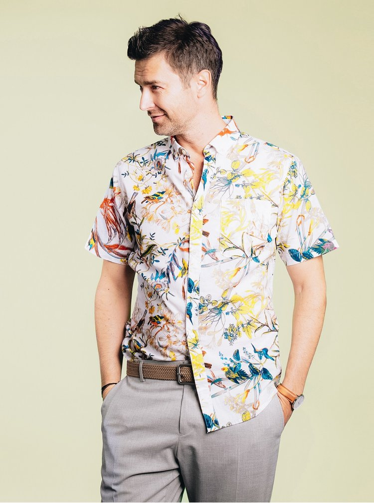 Pantaloni gri deschis Selected Homme Done-Summerpeak