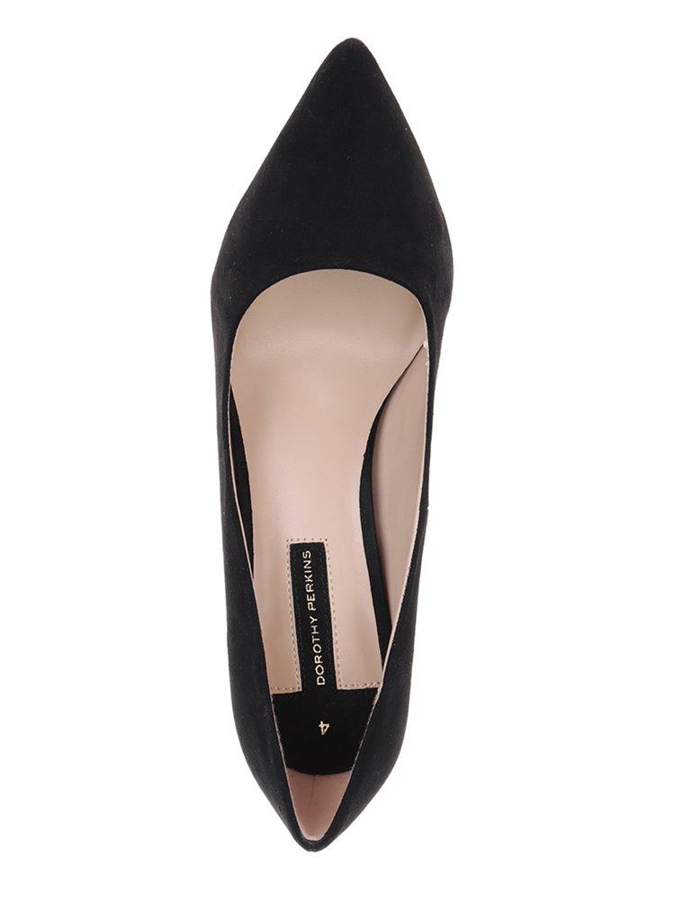 Pantofi negri Dorothy Perkins cu toc stiletto