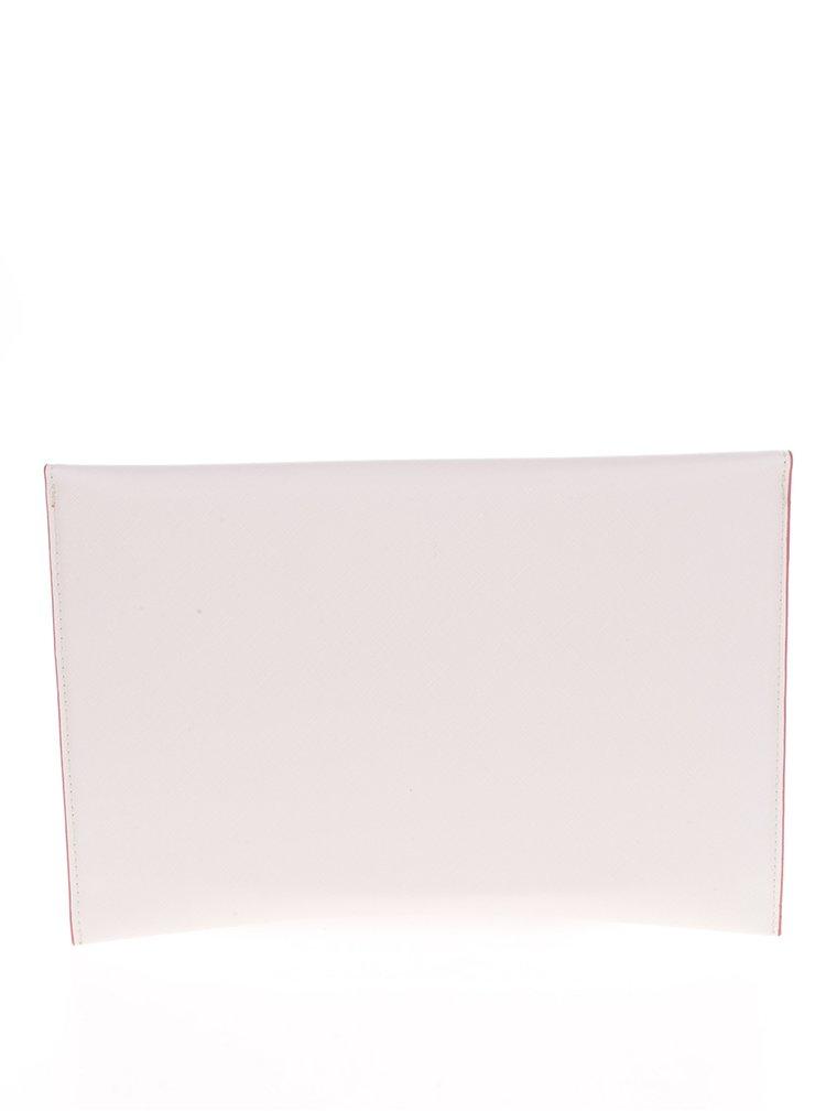Růžovo-krémové psaníčko s perforovaným vzorem Dorothy Perkins