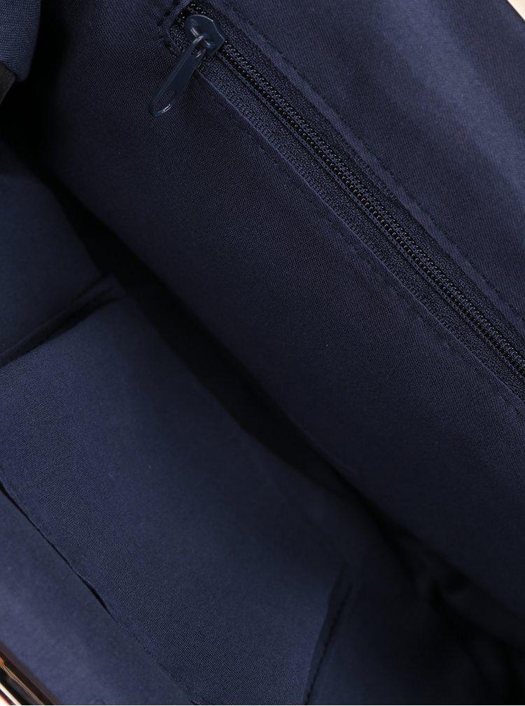 Geanta plic bleumarin Dorothy Perkins cu detalii aurii