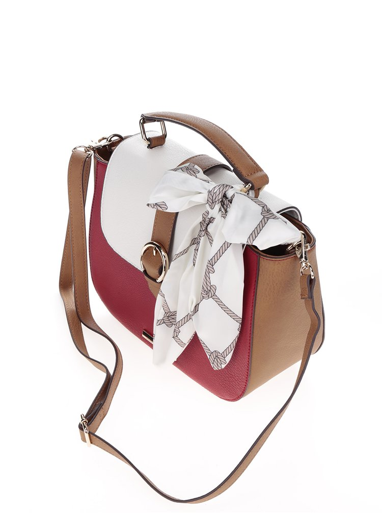 Geanta crossbody multicolora cu funda decorativa  Dorothy Perkins
