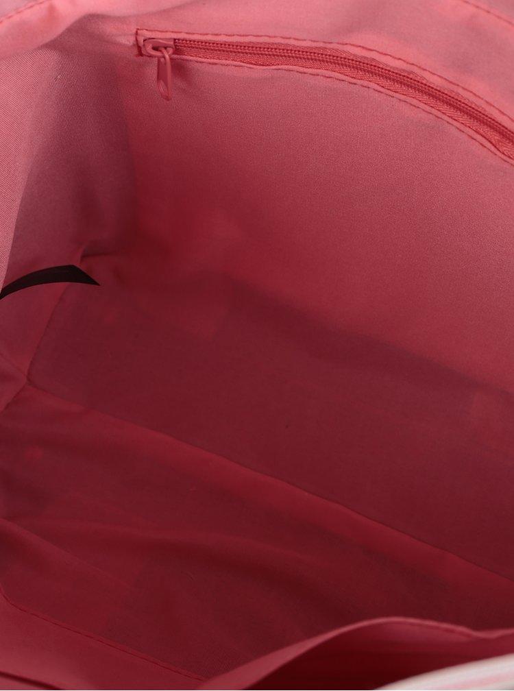 Geanta roz cu crem cu perforatii Dorothy Perkins