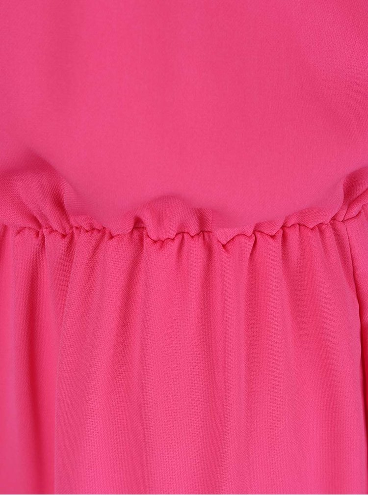 Salopetă roz Dorothy Perkins Petite cu bretele subțiri