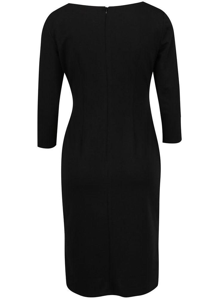 Rochie neagra Dorothy Perkins decolteu in V