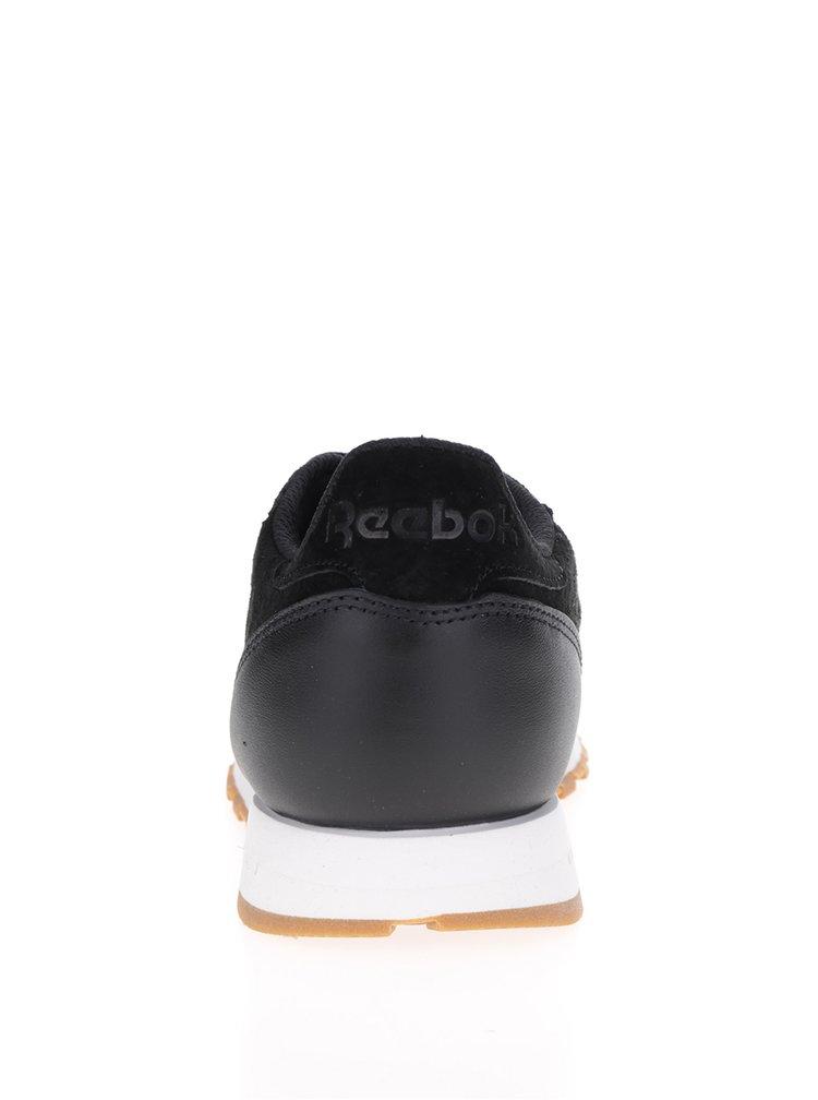Černé pánské semišové tenisky Reebok SG
