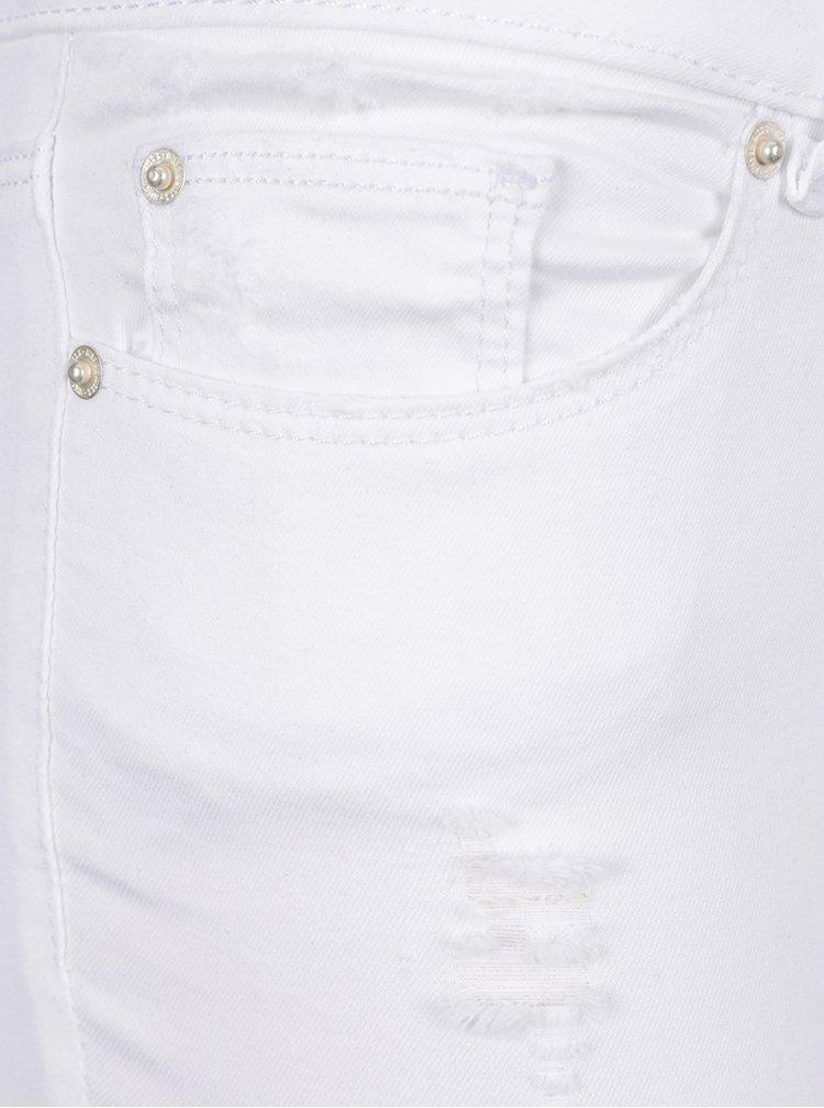 Bílé skinny džíny Miss Selfridge