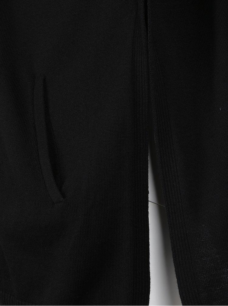 Chimono negru Ulla Popken  cu gluga