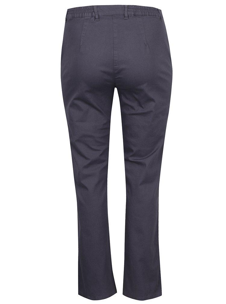Pantaloni gri Ulla Popken drepți