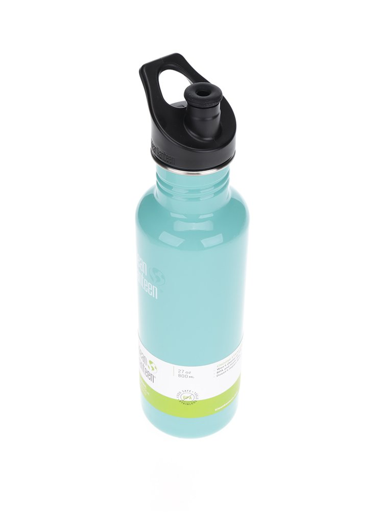 Mentolová nerezová lahev Klean Kanteen Classic 800 ml