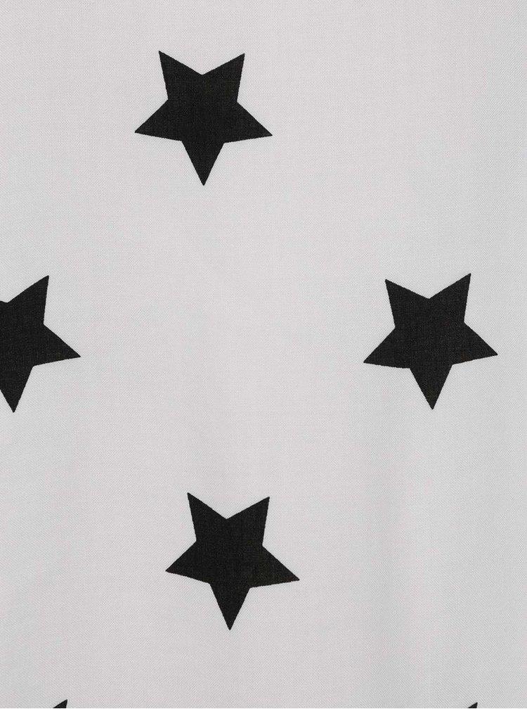 Tricou crem cu print albastru cu stele ONLY First