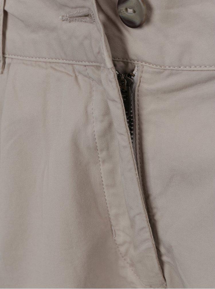 Krémové dámské kalhoty BUSHMAN Eunice