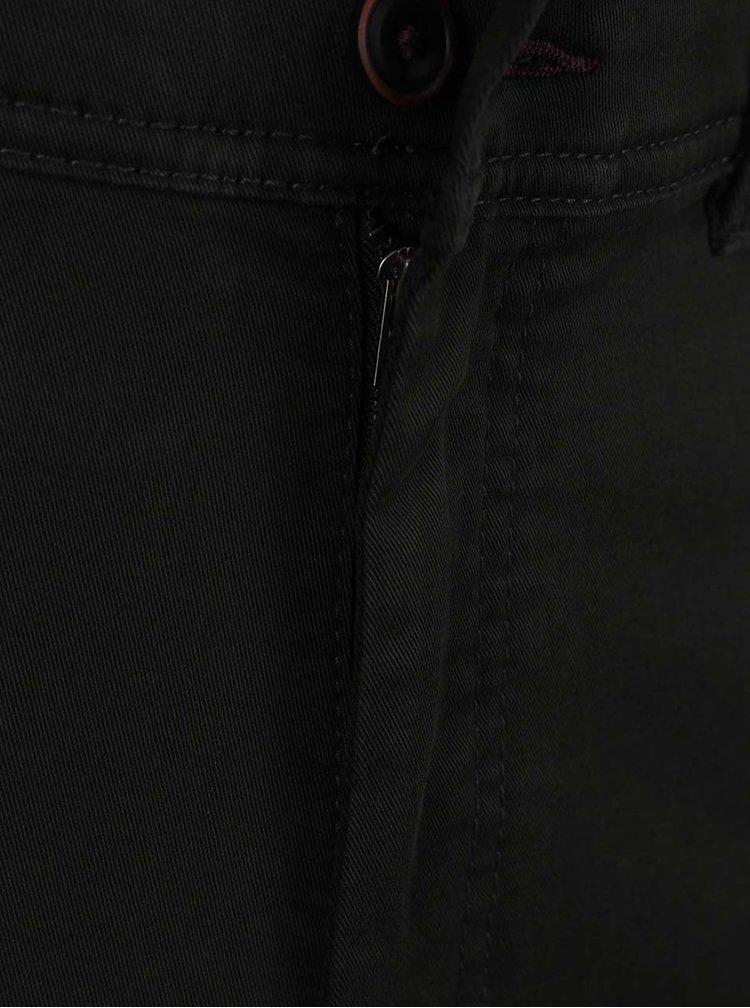 Tmavě zelené chino kalhoty JP 1880