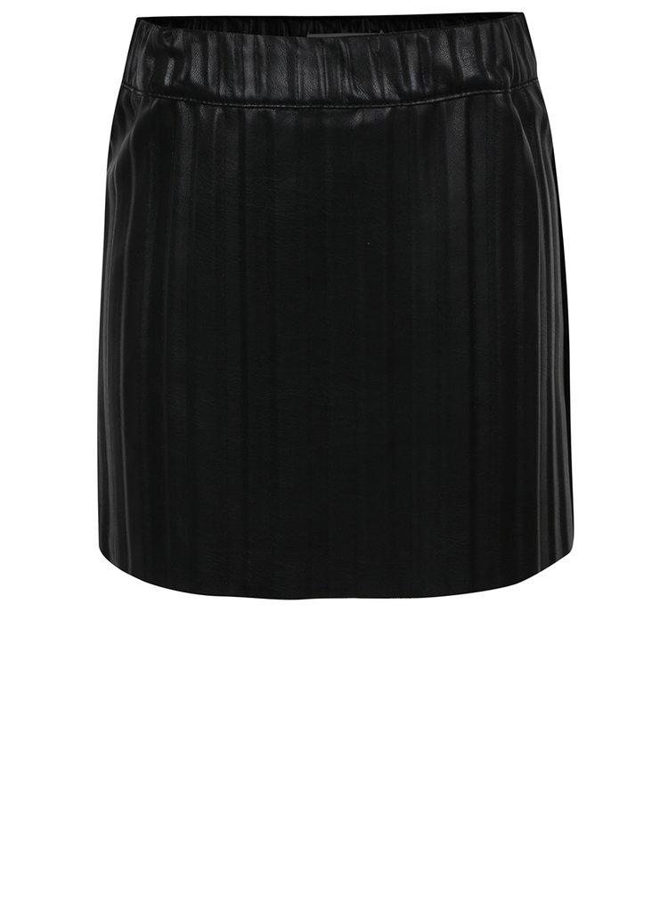 Černá holčičí koženková sukně name it Inge