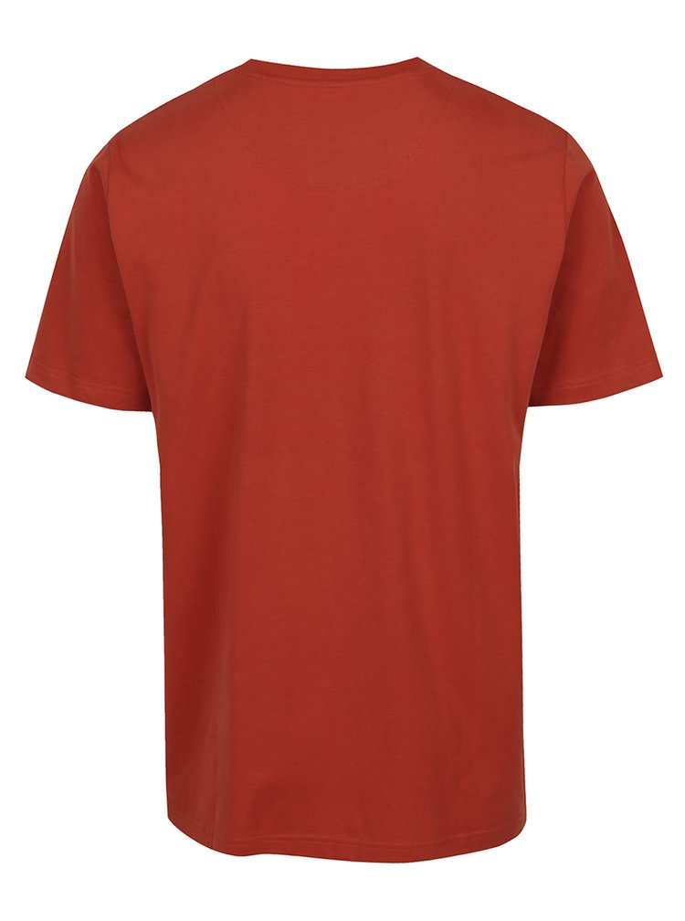 Oranžové tričko s potiskem JP 1880
