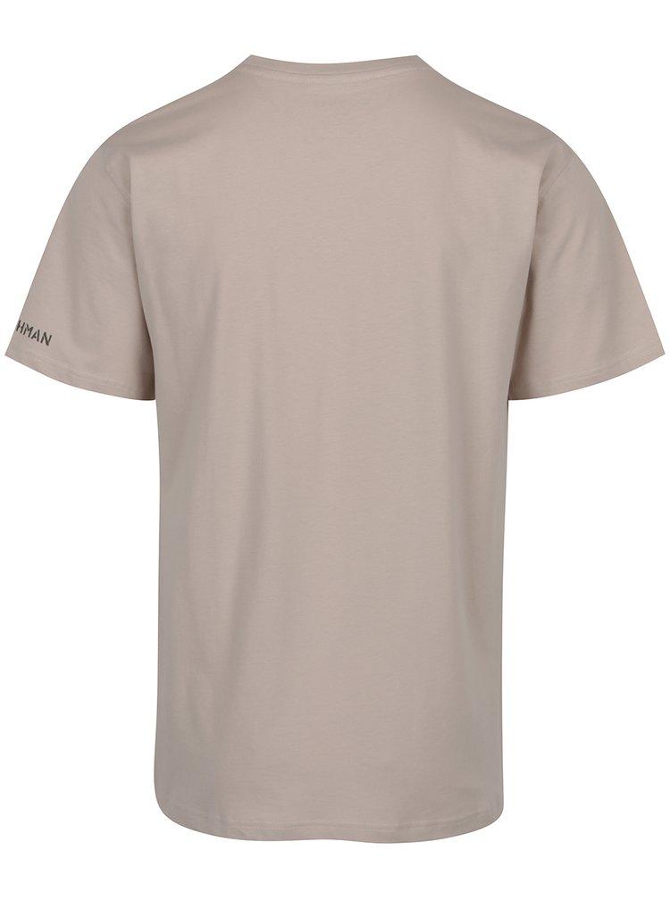 Béžové pánské triko BUSHMAN Brady