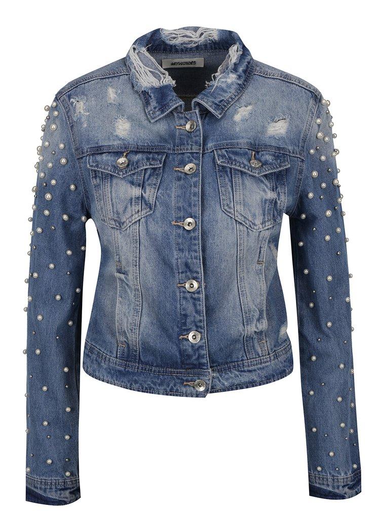 Jachetă albastră din denim Haily's