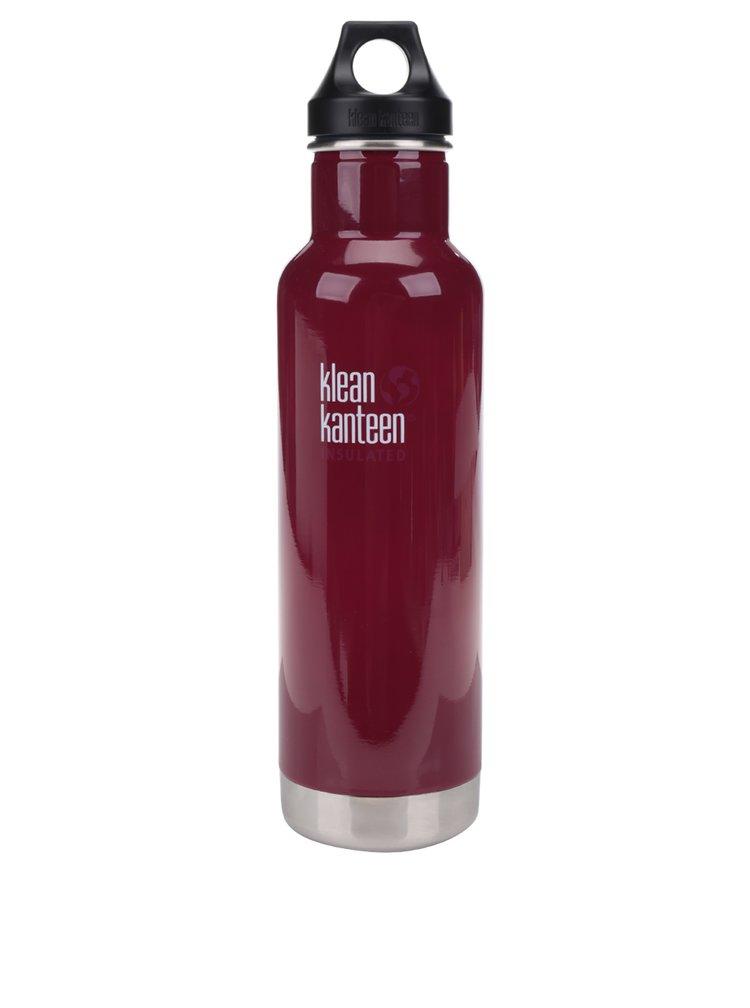 Vínová nerezová termo lahev Klean Kanteen Insulated Classic 592 ml