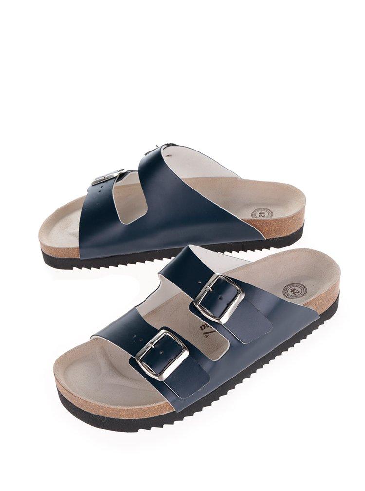 Papuci albaștri cu catarame Snaha Lima 160