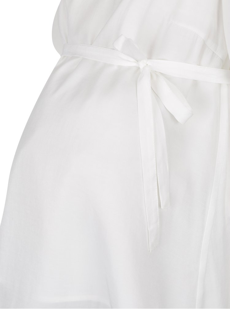 Bílá těhotenská halenka Mama.licious Wrappy