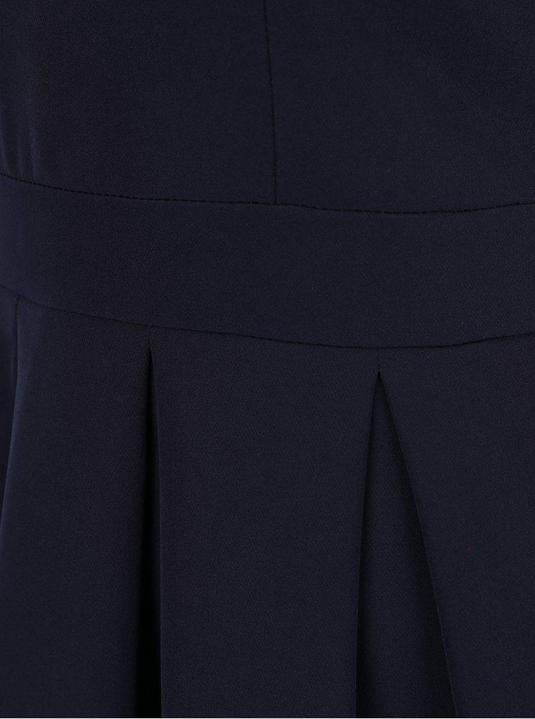 Tmavě modré minišaty s véčkovým výstřihem ZOOT