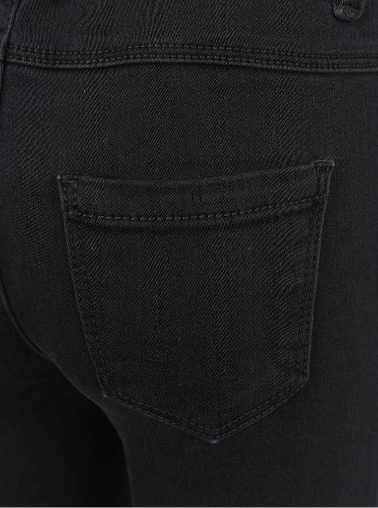 Tmavě šedé holčičí skinny džíny name it Tera
