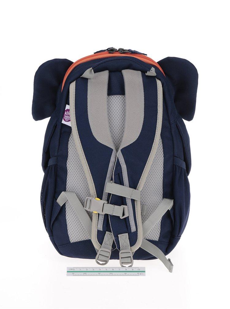 Tmavě modrý batoh ve tvaru slona Affenzahn 8 l
